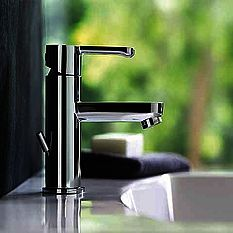 Armitage Shanks contemporary washbasin and tap