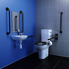 Armitage Shanks Doc-M pack with close coupled bowl and standing basin pack