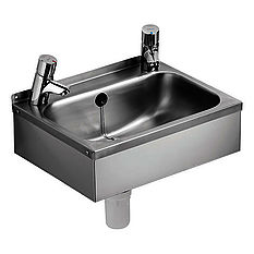 Armitage Shanks anti-vandal washbasin.
